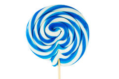 Colourful lollipop isolated Stock Photos