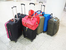 Colourful Luggage Royalty Free Stock Photography