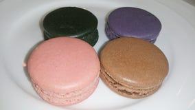Colourful Macarons Obraz Royalty Free