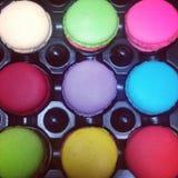 Colourful macaroon Stock Photo