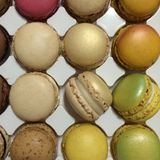 Colourful macaroon Stock Photos