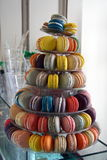 Colourful Macaroons Royalty Free Stock Photo