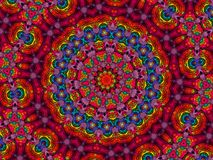 Colourful mandala Fotografia Royalty Free