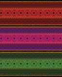 Colourful Mandala Banner /Border Stock Photography