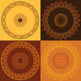 Colourful Mandala design Stock Image