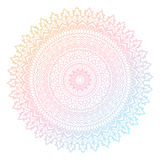 Colourful mandala design vector illustration