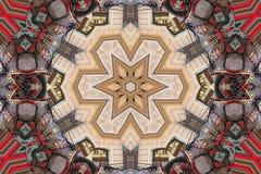Colourful Mandala Star Royalty Free Stock Image
