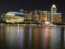 Colourful Marina Bay Stock Photos