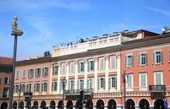 Market square of Nice Stock Image