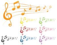 Colourful melodie Zdjęcie Royalty Free