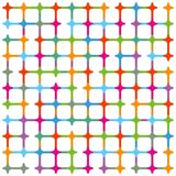 Colourful mesh illustration. An illustration of colourful mesh or network Stock Photos