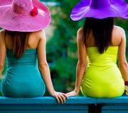 Colourful modele Zdjęcie Royalty Free