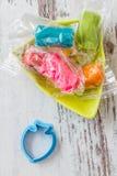 Colourful Molding Dough Royalty Free Stock Photos