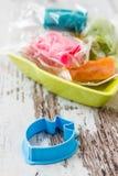 Colourful Molding Dough Stock Photos