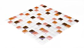 Colourful mosaic texture Stock Photography