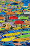 Colourful mosaics Stock Images