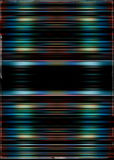 Colourful motion blurred stripes Stock Image