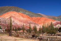 Colourful Mountains Stock Images