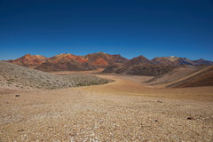 Colourful Mountains of the Atacama Desert Royalty Free Stock Photos