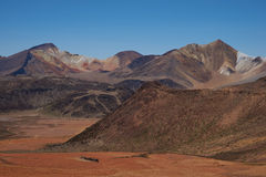 Colourful Mountains of the Atacama Desert Royalty Free Stock Photography