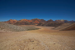 Colourful Mountains of the Atacama Desert Royalty Free Stock Image