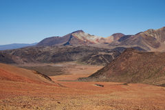 Colourful Mountains of the Atacama Desert Stock Photos