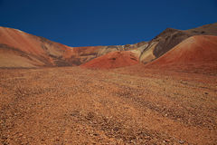 Colourful Mountains of the Atacama Desert Stock Image