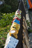 Colourful mugs Stock Image