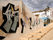 Street Art in Orihuela, Alicante - Spain Stock Photos