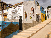 Street Art in Orihuela, Alicante - Spain Royalty Free Stock Photos