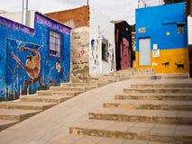 Street Art in Orihuela, Alicante - Spain Royalty Free Stock Images