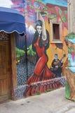 Colourful Murals of Valparaiso Stock Photo