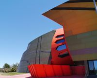 The colourful National Museum of Australia Stock Image