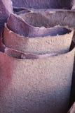 Colourful Naturalny Handmade papier, robić od słonia poo! Zdjęcia Stock