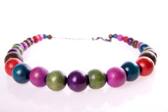 Colourful necklace. Stock Photos