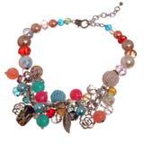 Colourful necklace Stock Photos