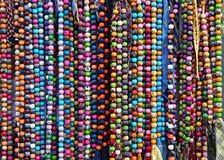 Colourful necklaces Royalty Free Stock Photography