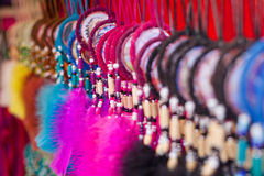 Colourful necklaces Royalty Free Stock Image