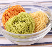 Colourful Noodles Royalty Free Stock Images