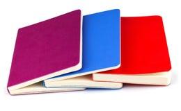 Colourful notatniki Zdjęcie Royalty Free