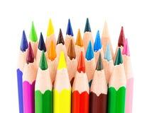 Colourful ołówki Obraz Royalty Free