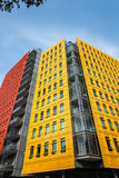 Colourful office buildings in London Stock Photos