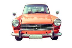 Colourful old car isolated Royalty Free Stock Image