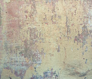 Colourful old grunge wall. Stock Photos