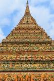 Colourful Pagoda. At Wat Pho, Bangkok, Thailand Stock Images