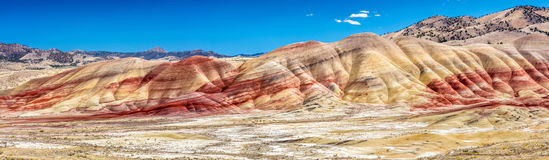 The colourful Painted Hills royalty free stock photos