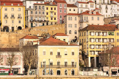 Colourful panoramic view. Coimbra. Portugal Stock Image