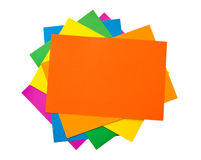 Colourful Paper stock images