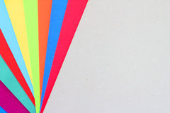 Colourful Paper background Stock Image