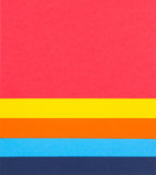 Colourful paper background Royalty Free Stock Images